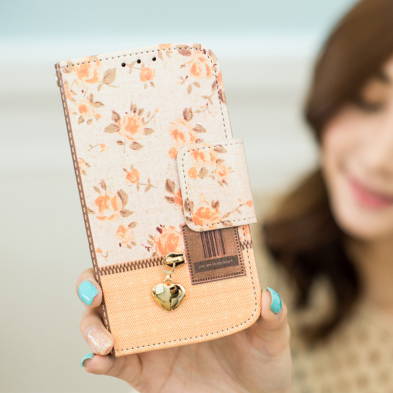 ZipperFlower 지퍼플라워 (Orange)